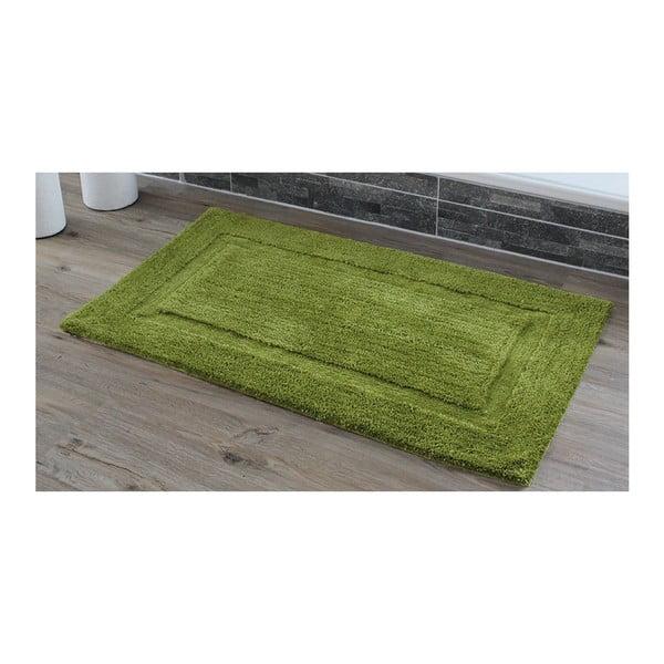 Koupelnová předložka Rahmen Green, 50x70 cm