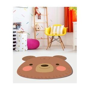 Dětský vinylový koberec Floorart Medvídek, ⌀ 150 cm