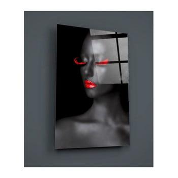 Tablou din sticlă Insigne Pinshelo, 110 x 70 cm de la Insigne