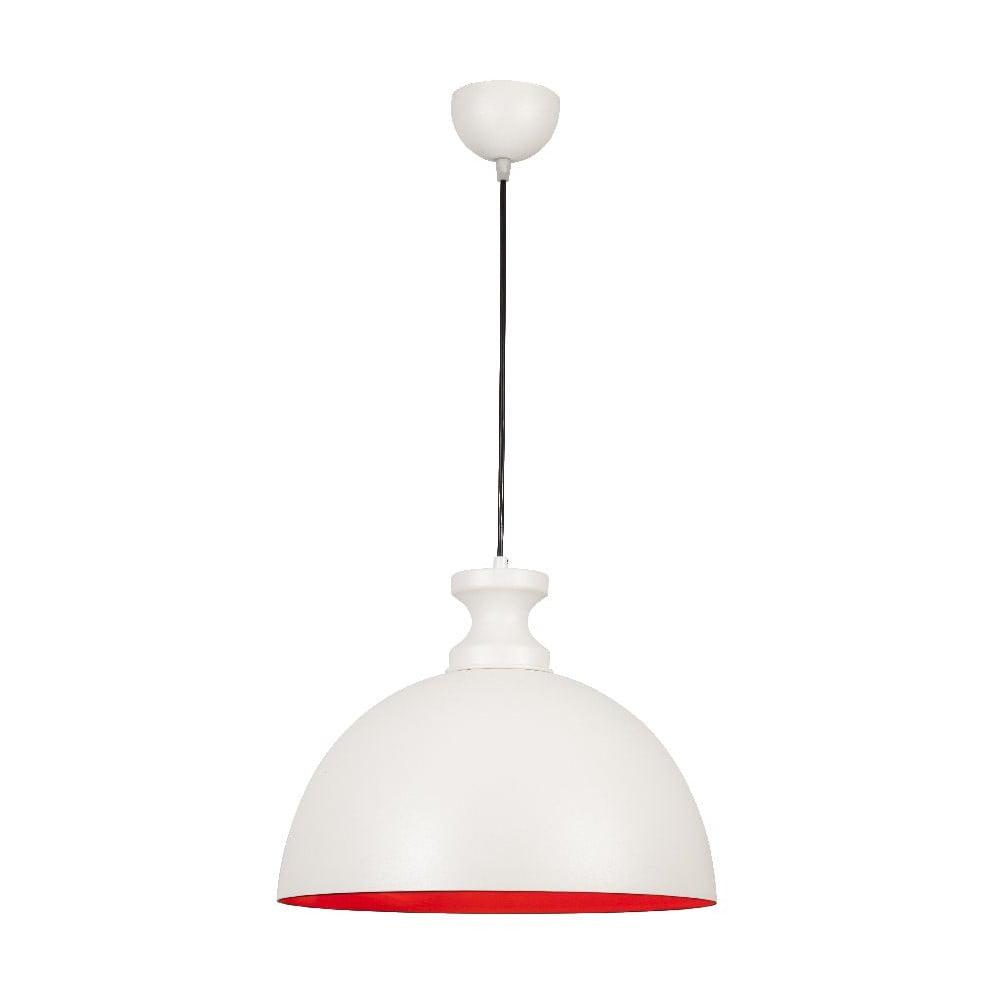 Bílé stropní svítidlo Simple