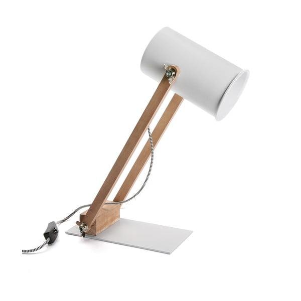 Stolní lampa Wood&Steel
