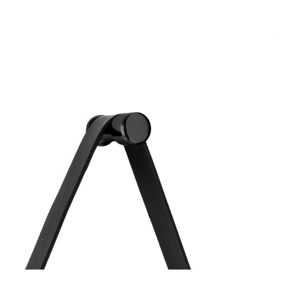 Nástěnné zrcadlo s rámem v černé barvě PT LIVING Balanced, Ø 47 cm