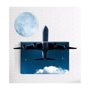 Nástěnný 3D obraz Mosticx Letadlo, 40 x 60 cm