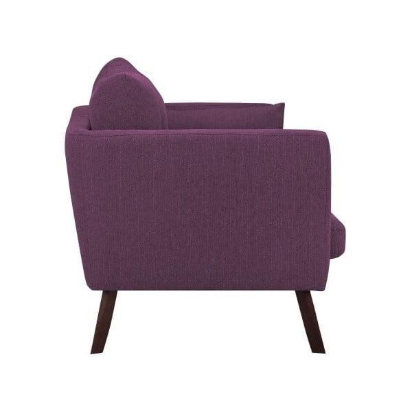 Canapea cu 2 locuri Mazzini Sofas Elena, violet