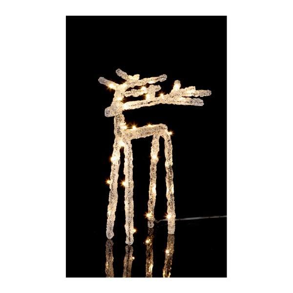 Deer világító LED dekoráció, magasság 20 cm - Best Season