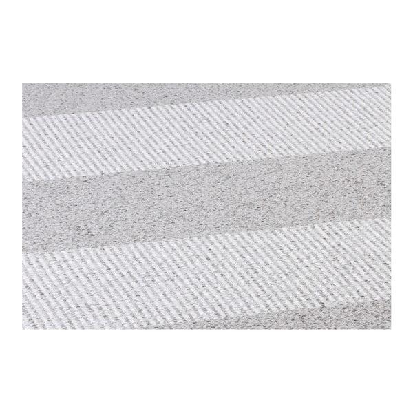 Šedý koberec vhodný do exteriéru Narma Norrby, 70x100cm