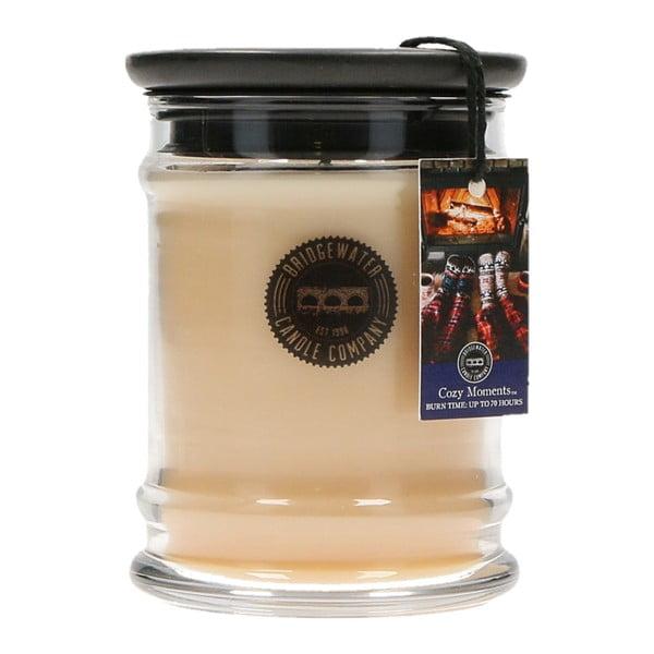 Svíčka s vůní ve skleněné dóze Creative Tops Cozy Moments, doba hoření 65 - 85 hodin