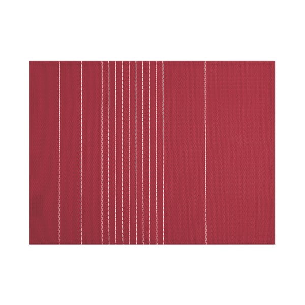 Vínově červené prostírání Tiseco Home Studio Stripe, 45 x 33 cm