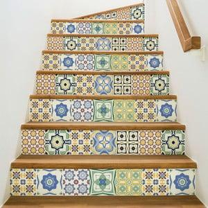 Sada 2 samolepek na schody Ambiance Stickers Stair Sephora, 15 x 105 cm