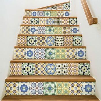 Set 2 autocolante pentru scări Ambiance Stair Sephora, 15 x 105 cm de la Ambiance