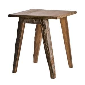 Dřevěný příruční stolek s detaily z kůry pols potten Bark