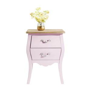 Růžová dřevěná komoda Kare Design Romantic