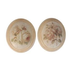 Set 2 obrázků Antic Roses