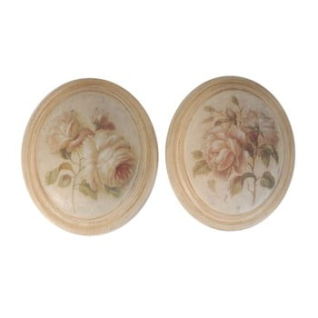 Set 2 tablouri Antic Roses
