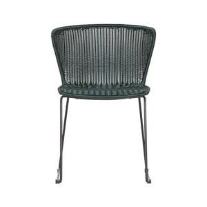 Sada 2 zelených jídelních židlí WOOOD Wings