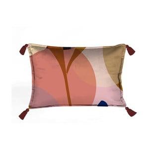 Barevný dekorativní polštář Velvet Atelier Details,50 x 35 cm