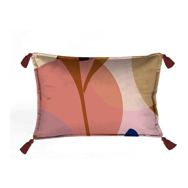 Kolorowa dekoracyjna poszewka na poduszkę Velvet Atelier Details, 50x35 cm