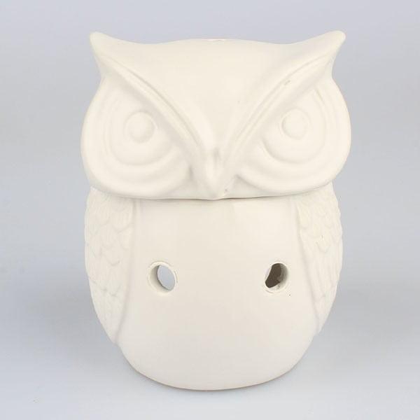 Lampă din ceramică pentru aromaterapie Dakls Owl