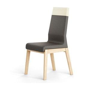 Černá židle z dubového dřeva Absynth Kyla Two