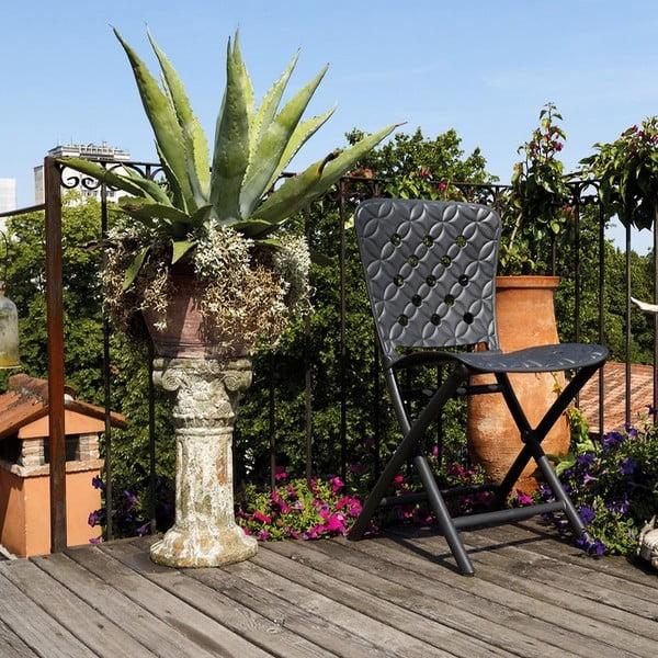 Skládací židle Zac Spring Antracite, antracit