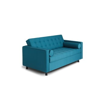 Canapea extensibilă 2 locuri Custom Form Topics, turcoaz