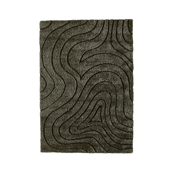 Koberec Kura Charcoal, 160x230 cm