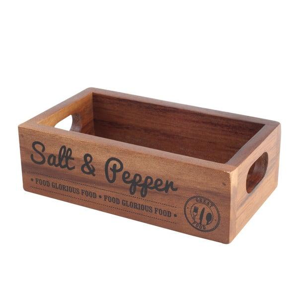 Inacacia fűszertartó doboz akácfából - T&G Woodware