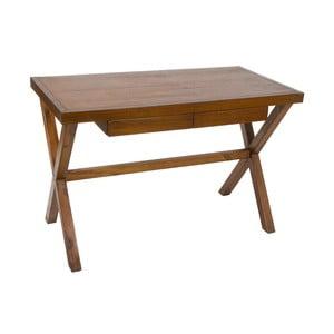 Dřevěný pracovní stůl Santiago Pons Nogal