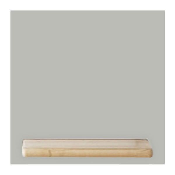 Světle šedý policový díl HARTÔ Marcel, 33,5 x 33,5 cm