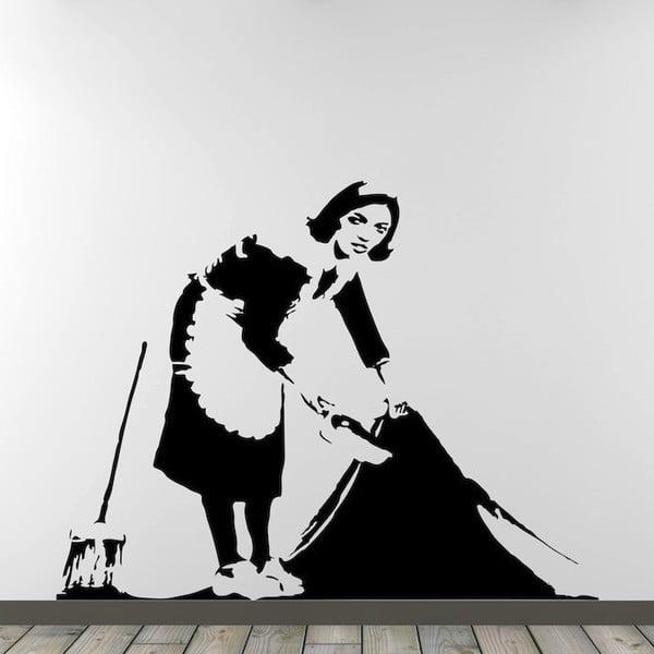Samolepka na zeď Cleaner by Banksy