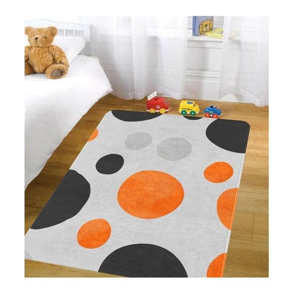 Dětský koberec OYO Kids Retro Dots, 80 x 140 cm