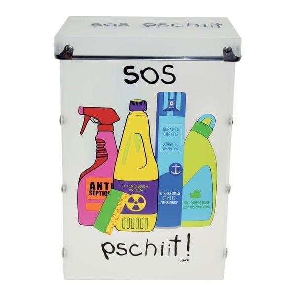 Úložný box na čistící prostředky Incidence SOS Pschiit
