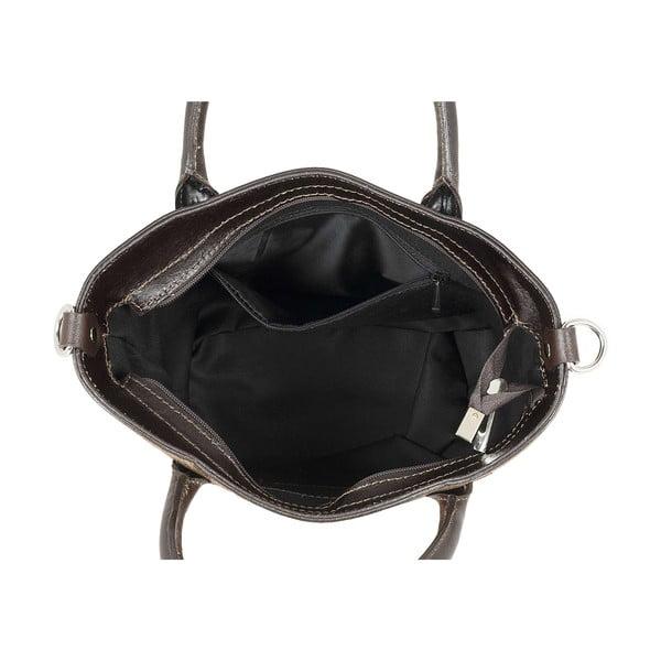 Kožená kabelka Teggie Moro