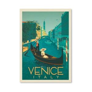Plakát Americanflat Venice, 42 x 30 cm