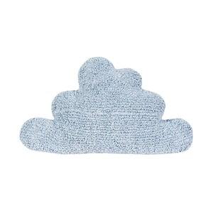 Modrý bavlněný polštář Happy Decor Kids Cloud, 45x45cm