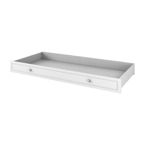 Biela zásuvka pod posteľ BELLAMY Marylou, 90×200 cm