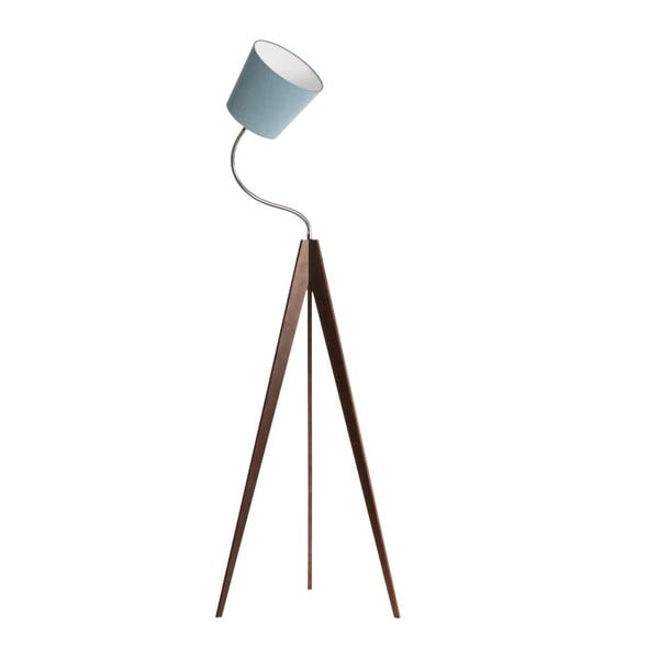 Stojací lampa Artist Flex Light Blue/Dark Brown