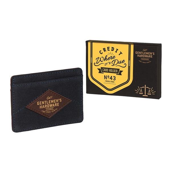 Obal na vizitky a karty Gentlemen's Hardware Card