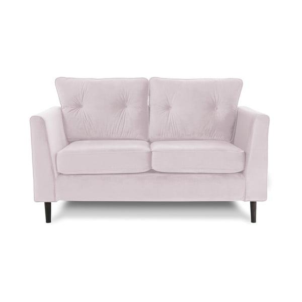 Canapea cu 2 locuri Vivonita Portobello, mov deschis