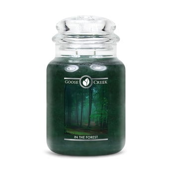 Lumânare parfumată în recipient de sticlă Goose Creek In the Forest, 150 ore de ardere imagine