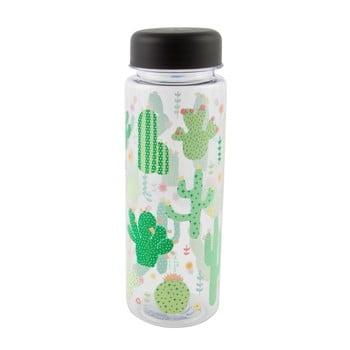 Sticlă pentru apă Sass & Belle Colourful Cactus, 450 ml