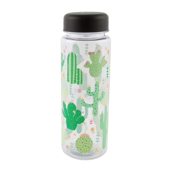Butelka na wodę Sass & Belle Colourful Cactus, 450 ml