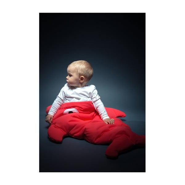 Dětský spací vak Slate Blue Polka Dot, vhodné i na teplé dny