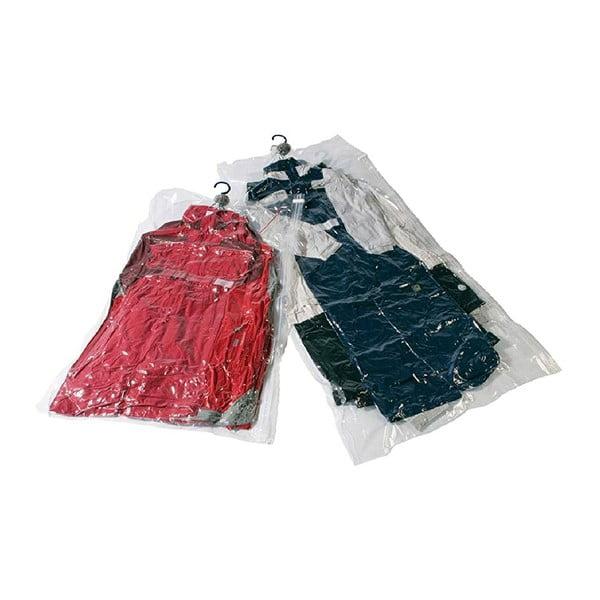 Sada 2 vakuových úložných obalov na oblečenie Compactor Compressbag Preya