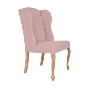 Světle růžová židle Windsor & Co Sofas Libra