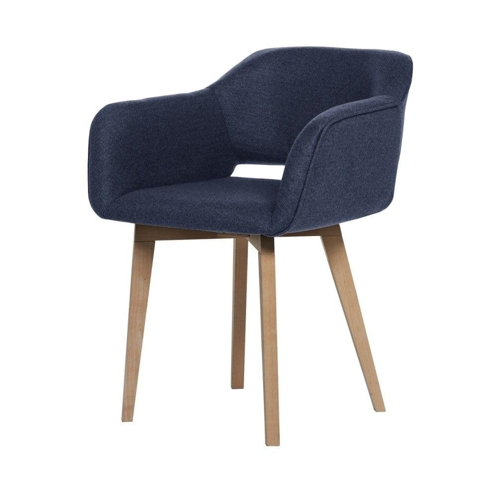 Tmavě modrá jídelní židle My Pop Design Oldenburg