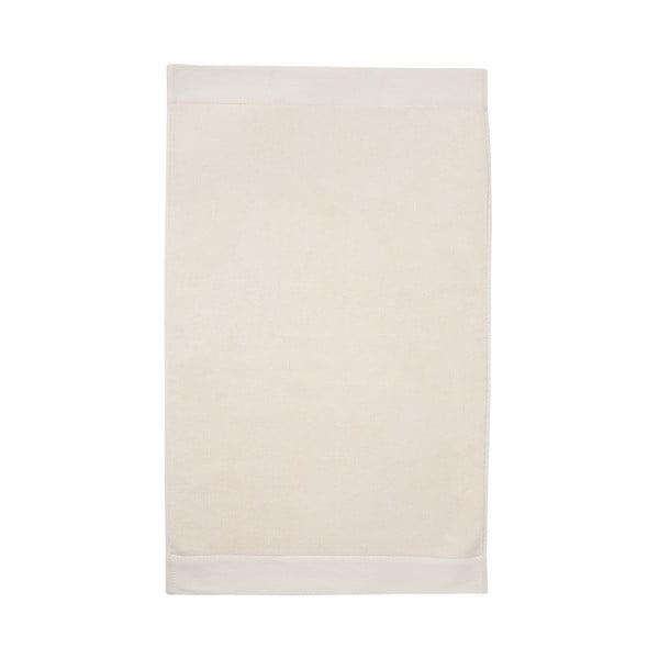 Krémová koupelnová předložka Seahorse Pure, 50x90cm