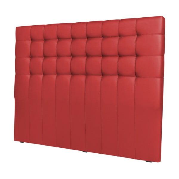 Červené čelo postele Windsor & Co Sofas Deimos, 140 x 120 cm