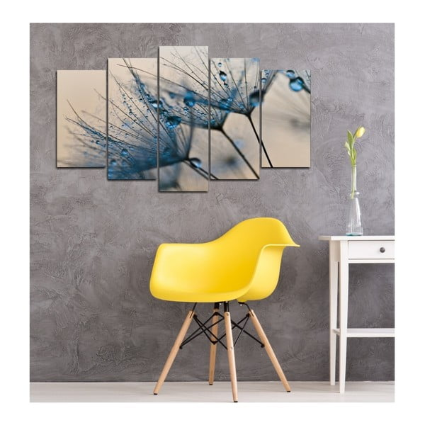 Tablou din mai multe piese Insigne Magali, 102 x 60 cm