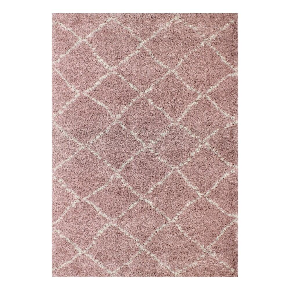 Růžový koberec Art For Kids Nomad, 120 x 170 cm